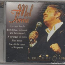 CDs de Música: MEL TORME - A TOUCH OF CLASS / CD ALBUM DE 1998 / MUY BUEN ESTADO RF-6705. Lote 211452275