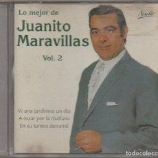 CDs de Música: LO MEJOR DE JUANITO VALDERRAMA - VOLUMEN 2 / CD ALBUM DEL 2005 / MUY BUEN ESTADO RF-6709. Lote 211452446