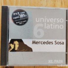 CDs de Música: MERCEDES SOSA CD UNIVERSO LATINO. Lote 211467392