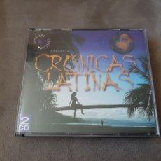 CDs de Música: 2 CD CRÓNICAS LATINAS (1.999). Lote 211476796