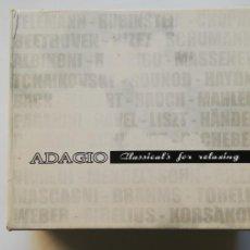 CDs de Música: 8720 -ADAGIO CLASSICAL´S FOR RELAXING 5CDS - CD LIQUIDACION!. Lote 211484001