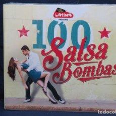 CDs de Música: 100 SALSA BOMBAS - 5 CD. Lote 211488571