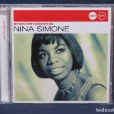 CDs de Música: NINA SIMONE - MY BABY JUST CARE FOR ME - CD. Lote 211489434