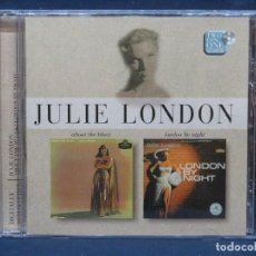 CDs de Música: JULIE LONDON - ABOUT THE BLUES / LONDON BY NIGHT - CD. Lote 211489762