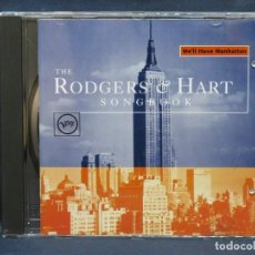 CDs de Música: VARIOS – WE'LL HAVE MANHATTAN (THE RODGERS & HART SONGBOOK) - CD. Lote 211492499