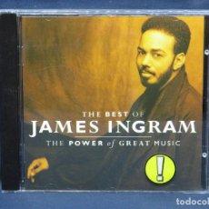 CDs de Música: JAMES INGRAM. THE BEST OF JAMES INGRAM - THE POWER OF GREAT MUSIC - CD. Lote 211494066