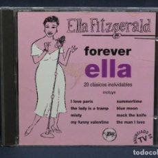 CDs de Música: ELLA FITZGERALD - FOREVER ELLA - CD. Lote 211497066
