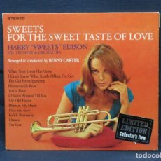 "CDs de Música: HARRY ""SWEETS"" EDISON - SWEETS FOR THE SWEET TASTE O F LOVE - CD. Lote 211502714"