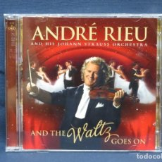 CDs de Música: ANDRÉ RIEU AND HIS JOHANN STRAUSS ORCHESTRA ‎– ANDRÉ RIEU AND THE WALTZ GOES ON - CD. Lote 211502865