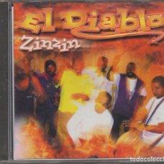CDs de Música: EL DIABLO - ZINZIN / CD ALBUM DEL 2010 / MUY BUEN ESTADO RF-6737. Lote 211502940
