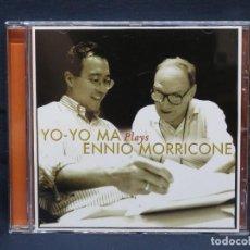 CD di Musica: YO-YO MA, ENNIO MORRICONE – YO-YO MA PLAYS ENNIO MORRICONE - CD. Lote 211503004