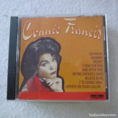 CDs de Música: CONNIE FRANCIS - GRANADA, MAMMA… - CD 1996. Lote 211507050