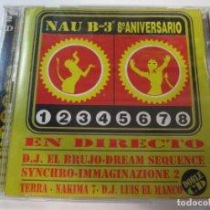 CDs de Música: DOBLE CD NAU B-3 EN DIRECTO 8º ANIVERSARIO. Lote 211508984