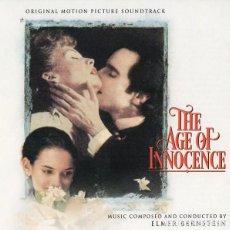 CDs de Música: THE AGE OF INNOCENCE / ELMER BERNSTEIN CD BSO. Lote 211514892