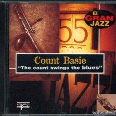 CDs de Música: COUNT BASIE – THE COUNT SWINGS THE BLUES – EL GRAN JAZZ – CD. Lote 211515460