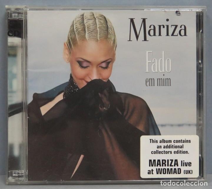 CD. MARIZA. FADO EM MIM (Música - CD's Otros Estilos)