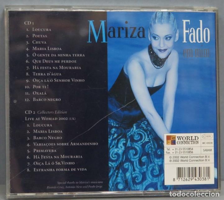 CDs de Música: CD. MARIZA. FADO EM MIM - Foto 2 - 211516342