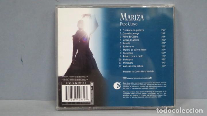 CDs de Música: CD. MARIZA. FADO CURVO - Foto 2 - 211516395