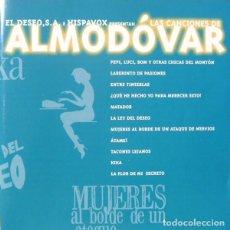 CDs de Música: LAS CANCIONES DE ALMODÓVAR / VARIOS CD BSO. Lote 211517170