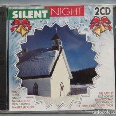 CDs de Música: 2 CD. SILENT NIGHT. Lote 211517787