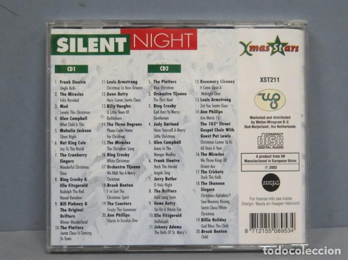 CDs de Música: 2 CD. SILENT NIGHT - Foto 2 - 211517787