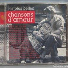 CDs de Música: CD. LES PLUS BELLES CHANSONS D'AMOUR. Lote 211517951