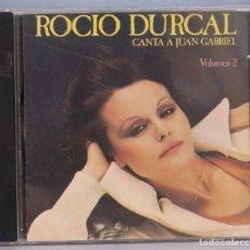 CDs de Música: CD. ROCIO DURCAL. CANTA A JUAN GABRIEL. VOLUMEN 2. Lote 211518177