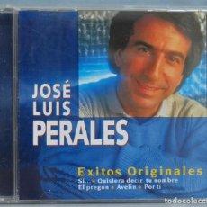 CDs de Música: CD. JOSE LUIS PERALES. EXITOS ORIGINALES. Lote 211518204