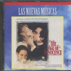 CDs de Música: ELMER BERNSTEIN ?– LA EDAD DE LA INOCENCIA – CD. Lote 211518630