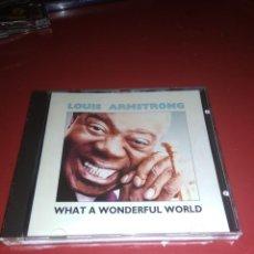 CDs de Música: LOUIS ASMTRONG.,WONDEFULL WORLD . C .D. Lote 211521196