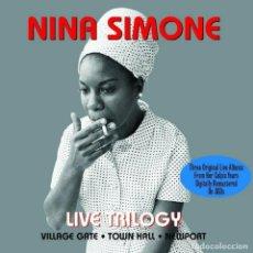 CDs de Música: NINA SIMONE * 3 CD LTD DIGIPACK * LIVE TRILOGY * REMASTERED * PRECINTADO!!. Lote 211522130