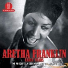 CDs de Música: ARETHA FRANKLIN - EARLY YEARS: THE ABSOLUTELY ESSENTIAL COLLECTION (3 CD) - (CD NUEVO). Lote 211531235