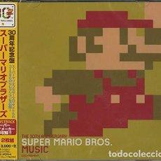 CDs de Música: NINTENDO: 30 SHUUNEN KINEN BAN SUPER MARIO BROS MUSIC - (CD NUEVO). Lote 211537682