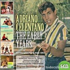 CDs de Música: ADRIANO CELENTANO - THE EARLY YEARS (5 CD) - (CD NUEVO). Lote 211542054