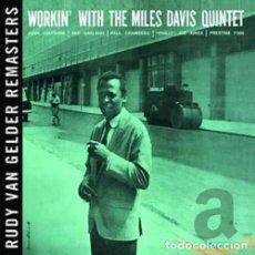 CDs de Música: MILES DAVIS - WORKIN' - (CD NUEVO). Lote 211543064