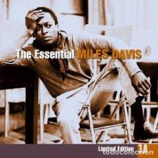 CDs de Música: DAVIS, MILES - ESSENTIAL 3.0 (3 CD) - (CD NUEVO). Lote 211547382