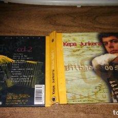 CDs de Música: KEPA JUNKERA - BILBAO 00: 00 H (2 CD). Lote 211561875