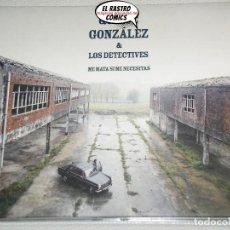 CDs de Música: QUIQUE GONZÁLEZ & LOS DETECTIVES, ME MATA SI ME NECESITAS, CD 2016, INDIE. Lote 211575719