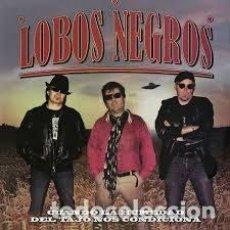 CDs de Música: LOBOS NEGROS - CUANDO LA HUMEDAD DEL TAJO NOS CONDICIONA. Lote 211580152