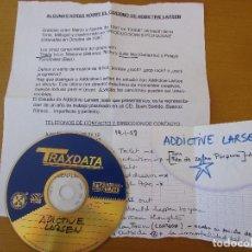CDs de Música: DEMO MAQUETA ADDICTIVE LARSEN 1997 11 CANCIONES CON NOTA DE PRENSA. Lote 211587775