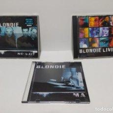 CDs de Música: BLONDIE LOTE CD´S LEER DESCRIPCION BUEN ESTADO. Lote 211588465