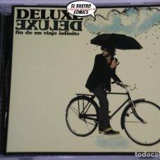CDs de Música: DELUXE, FIN DE UN VIAJE INFINITO, CD EMI, 2007, INDIE POP. Lote 211589044
