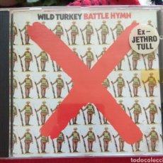 CDs de Música: WILD TURKEY - BATTLE HYMN. Lote 211597265