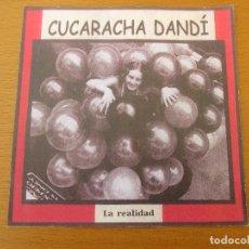 CDs de Música: CUCARACHA DANDÍ LA REALIDAD DEMO MAQUETA 10 CANCIONES 2002. Lote 211600076