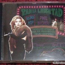 CDs de Música: TANIA LIBERTAD Y PHIL MANZANERA (BOLEROS HOY) CD 1991 - DUOS CON MIGUEL BOSE, AZUCAR MORENO...... Lote 211606601