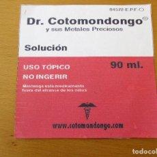 CDs de Música: DR. COTOMONDONGO Y SUS METALES PRECIOSOS DEMO MAQUETA 4 CANCIONES SKA. Lote 211613557