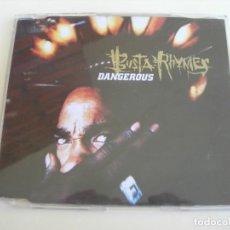 CDs de Música: BUSTA RHYMES DANGEROUS 4 VERSIONES CD SINGLE. Lote 211614565
