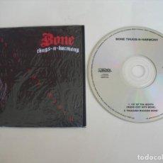 CDs de Música: BONE THUGS-N-HARMONYIST OF THA MONTH + 1 CD SINGLE. Lote 211614977