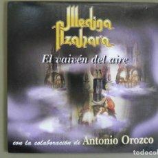 CDs de Música: MEDINA AZAHARA / ANTONIO OROZCO: EL VAIVÉN DEL AIRE, CD SINGLE PROMO AVISPA ACD-151. SPAIN, 2003. Lote 211617269