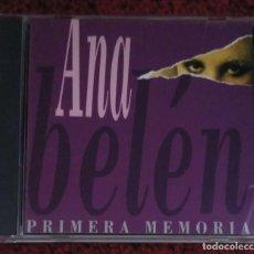 CDs de Música: ANA BELEN (PRIMERA MEMORIA) CD 1995 DE SU LP DE 1987. Lote 211623086